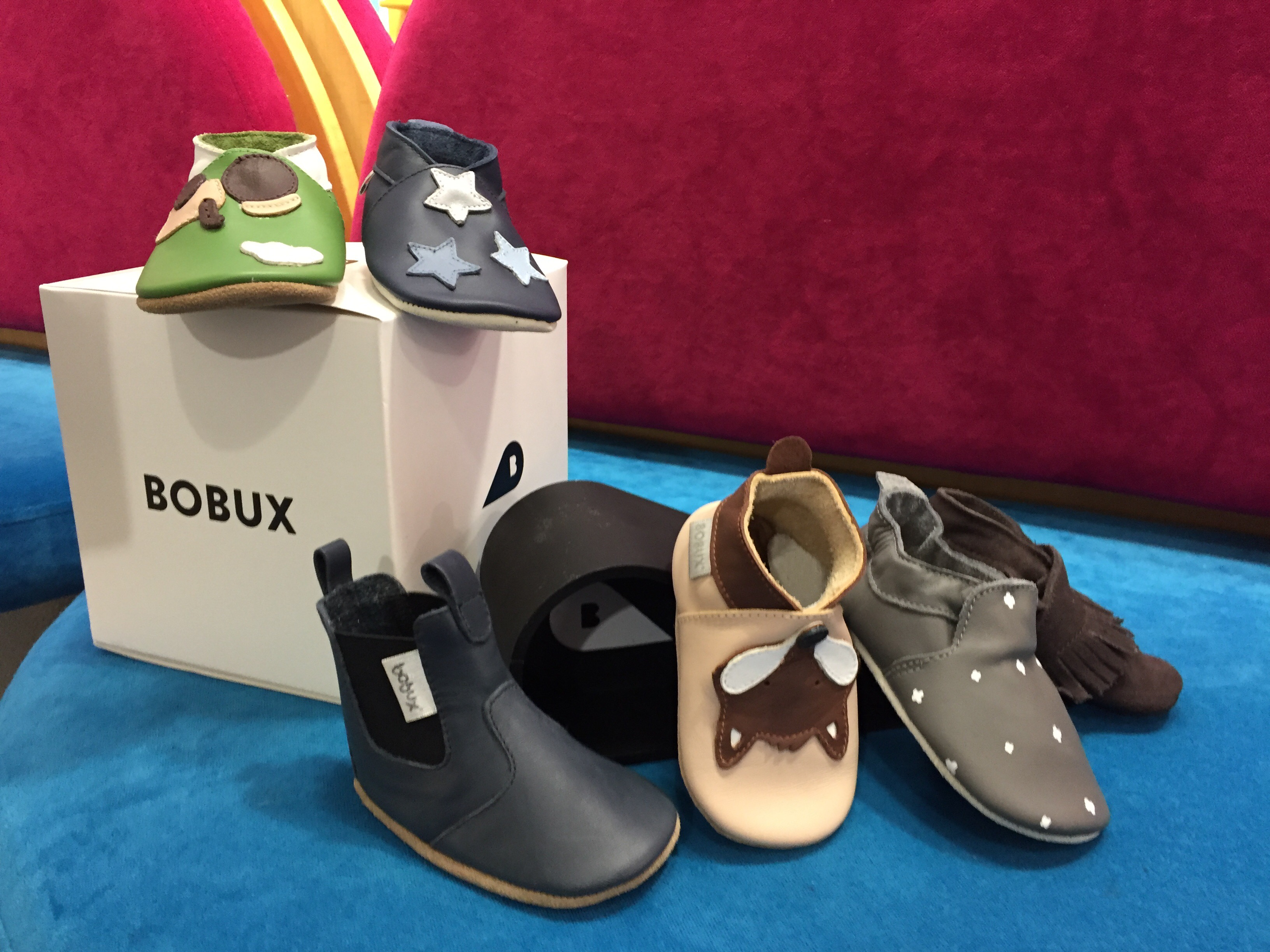 ebbb8274b8a2 Instead of pushing kids into hard soled shoes too early in their  development Bobux Soft Sole Shoes are perfect for pre-walker children